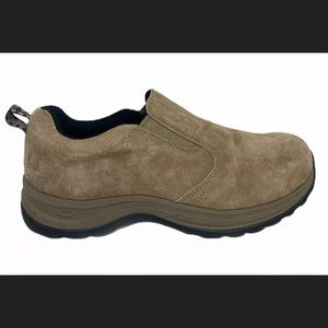 Windriver Quad Comfort Roamer Slip-on Suede Shoes
